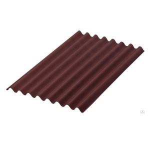 Шифер 8-ми волновой коричневый