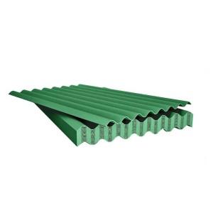 Шифер 8-ми волновой зеленый