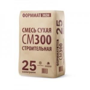 Формматэкон СМ 300 Смесь сухая строительная (25 кг)