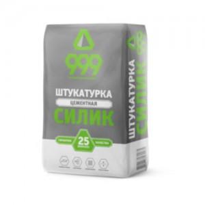 Смесь штукатурная цементная  Силик 999  (25 кг)